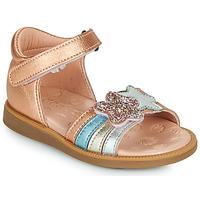 Παπούτσια Κορίτσι Σανδάλια / Πέδιλα Acebo's 1228-RAME Bronze