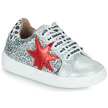 Xαμηλά Sneakers Acebo's 5461GL-PLATA-C ΣΤΕΛΕΧΟΣ: Δέρμα και συνθετικό & ΕΠΕΝΔΥΣΗ: Δέρμα & ΕΣ. ΣΟΛΑ: Δέρμα & ΕΞ. ΣΟΛΑ: Καουτσούκ