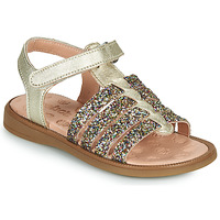 Παπούτσια Κορίτσι Σανδάλια / Πέδιλα Acebo's 5498GE-PLATINO-J Gold