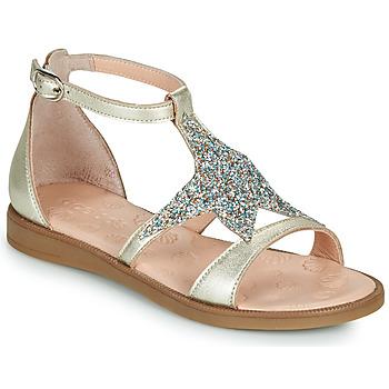 Παπούτσια Κορίτσι Σανδάλια / Πέδιλα Acebo's 9895GE-PLATINO-J Gold