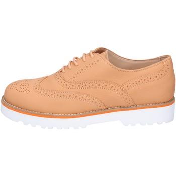 Παπούτσια Γυναίκα Derby & Richelieu Hogan Κλασσικός BK655 καφέ