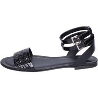 Παπούτσια Γυναίκα Σανδάλια / Πέδιλα Hogan Σανδάλια BK657 Μαύρος