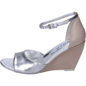 Παπούτσια Γυναίκα Σανδάλια / Πέδιλα Hogan Σανδάλια BK658 Ασήμι