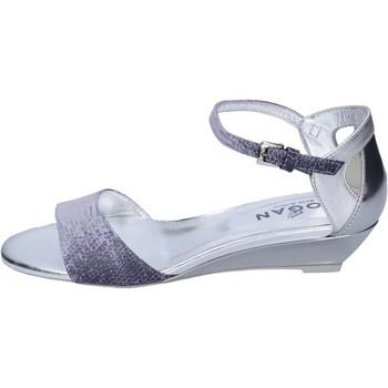 Παπούτσια Γυναίκα Σανδάλια / Πέδιλα Hogan Σανδάλια BK661 Μπλε