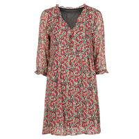 Υφασμάτινα Γυναίκα Κοντά Φορέματα Betty London  Red / Multicolour