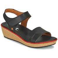 Παπούτσια Γυναίκα Σανδάλια / Πέδιλα Art CAPRI Black