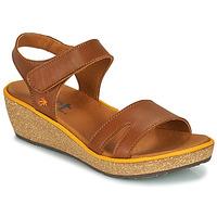 Παπούτσια Γυναίκα Σανδάλια / Πέδιλα Art CAPRI Brown