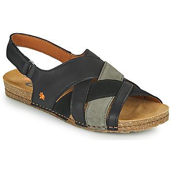 Παπούτσια Γυναίκα Σανδάλια / Πέδιλα Art CRETA Black