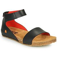 Παπούτσια Γυναίκα Σανδάλια / Πέδιλα Art CRETA Black / Red