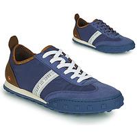 Παπούτσια Άνδρας Χαμηλά Sneakers Art CROSS SKY Μπλέ / Brown