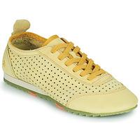 Παπούτσια Γυναίκα Χαμηλά Sneakers Art KIOTO Yellow