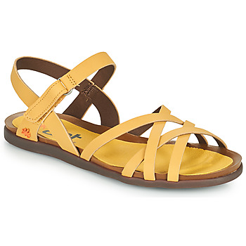 Παπούτσια Γυναίκα Σανδάλια / Πέδιλα Art LARISSA Yellow