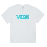 Υφασμάτινα Κορίτσι T-shirt με κοντά μανίκια Vans ECOLOGY Άσπρο
