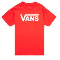 Υφασμάτινα Παιδί T-shirt με κοντά μανίκια Vans VANS CLASSIC TEE Black