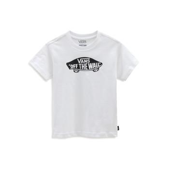 Υφασμάτινα Παιδί T-shirt με κοντά μανίκια Vans VANS CLASSIC TEE Άσπρο