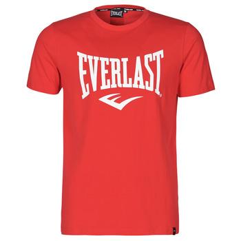 Υφασμάτινα Άνδρας T-shirt με κοντά μανίκια Everlast EVL- BASIC TEE-RUSSEL Red