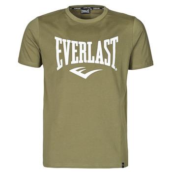 Υφασμάτινα Άνδρας T-shirt με κοντά μανίκια Everlast EVL- BASIC TEE-RUSSEL Khaki