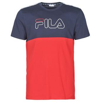 Υφασμάτινα Άνδρας T-shirt με κοντά μανίκια Fila JOPI Red / Marine