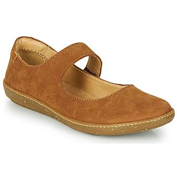Παπούτσια Γυναίκα Μπαλαρίνες El Naturalista CORAL Brown