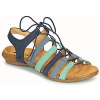 Παπούτσια Γυναίκα Σανδάλια / Πέδιλα El Naturalista WAKATAUA Μπλέ