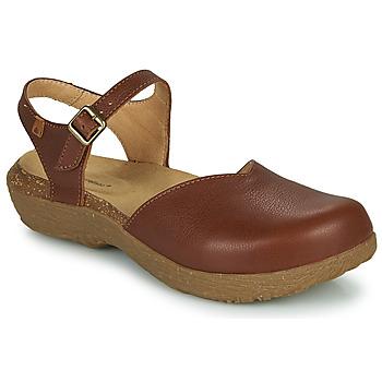 Παπούτσια Γυναίκα Σανδάλια / Πέδιλα El Naturalista WAKATIWAI Brown