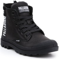 Παπούτσια Γυναίκα Ψηλά Sneakers Palladium Pampa UBN ZIPS 96857-008-M black