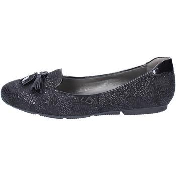 Παπούτσια Γυναίκα Μπαλαρίνες Hogan Μοκασίνια BK670 Μαύρος
