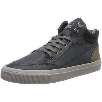 Παπούτσια Άνδρας Ψηλά Sneakers S.Oliver Navy Flat Booties Blue