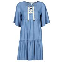 Υφασμάτινα Γυναίκα Κοντά Φορέματα Kaporal TILAN Μπλέ