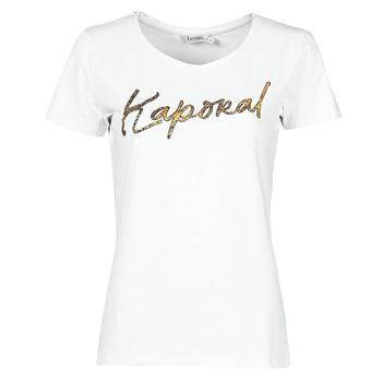 Υφασμάτινα Γυναίκα T-shirt με κοντά μανίκια Kaporal PETER Άσπρο