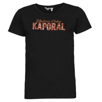 Υφασμάτινα Γυναίκα T-shirt με κοντά μανίκια Kaporal PENIN Black