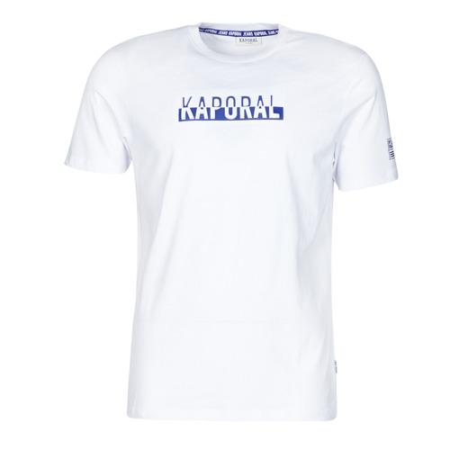 Υφασμάτινα Άνδρας T-shirt με κοντά μανίκια Kaporal DINO Άσπρο