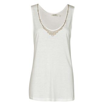Υφασμάτινα Γυναίκα Αμάνικα / T-shirts χωρίς μανίκια Kaporal PAMPI Άσπρο