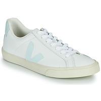 Παπούτσια Γυναίκα Χαμηλά Sneakers Veja ESPLAR LOGO Άσπρο / Μπλέ