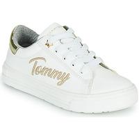 Παπούτσια Κορίτσι Χαμηλά Sneakers Tommy Hilfiger SOFI Άσπρο
