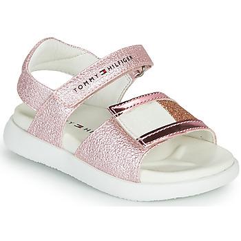 Παπούτσια Κορίτσι Σανδάλια / Πέδιλα Tommy Hilfiger EMIA Ροζ