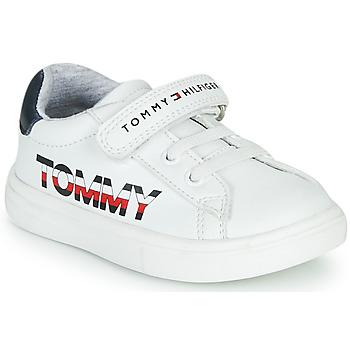Παπούτσια Παιδί Χαμηλά Sneakers Tommy Hilfiger MARILO Άσπρο