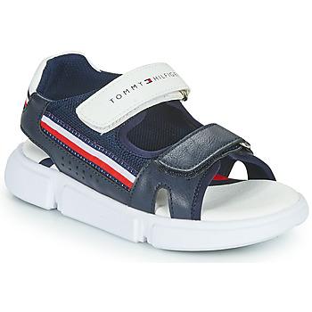 Παπούτσια Παιδί Σανδάλια / Πέδιλα Tommy Hilfiger TIFFOU Μπλέ