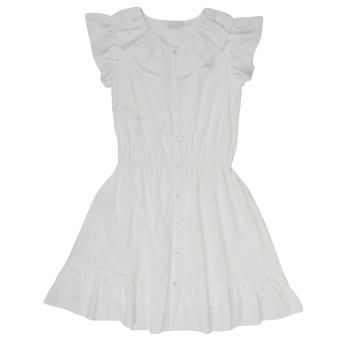 Υφασμάτινα Κορίτσι Κοντά Φορέματα Name it NKFDORITA Άσπρο