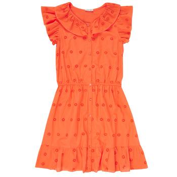 Υφασμάτινα Κορίτσι Κοντά Φορέματα Name it NKFDORITA Corail