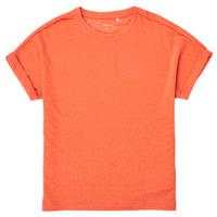 Υφασμάτινα Κορίτσι T-shirt με κοντά μανίκια Name it NKFKYRRA Corail