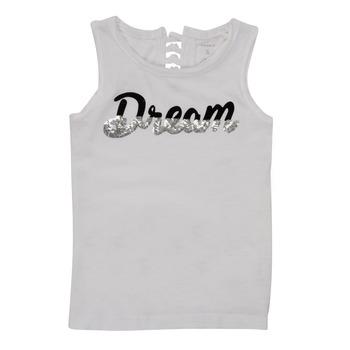Υφασμάτινα Κορίτσι Αμάνικα / T-shirts χωρίς μανίκια Name it NKFFASAI Άσπρο