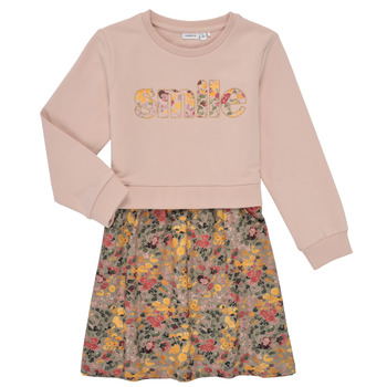 Υφασμάτινα Κορίτσι Κοντά Φορέματα Name it NMFBADA Grey