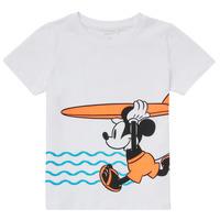 Υφασμάτινα Αγόρι T-shirt με κοντά μανίκια Name it NMMMICKEY Άσπρο