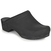 Παπούτσια Γυναίκα Σαμπό Sanita CHRISSY Black