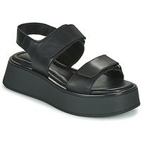 Παπούτσια Γυναίκα Σανδάλια / Πέδιλα Vagabond Shoemakers COURTNEY Black