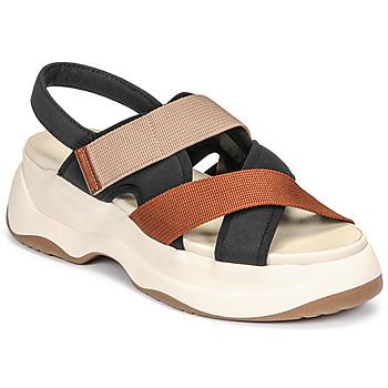 Παπούτσια Γυναίκα Σανδάλια / Πέδιλα Vagabond Shoemakers ESSY Άσπρο / Rouille / Black