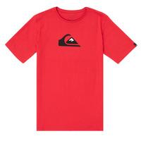 Υφασμάτινα Αγόρι T-shirt με κοντά μανίκια Quiksilver COMP LOGO Red