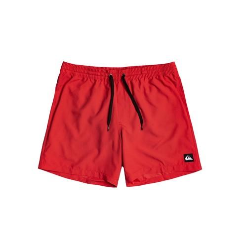 Υφασμάτινα Αγόρι Μαγιώ / shorts για την παραλία Quiksilver EVERYDAY VOLLEY Red