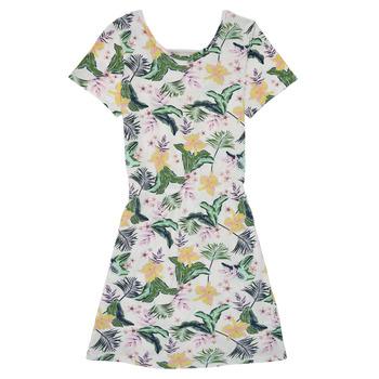 Υφασμάτινα Κορίτσι Κοντά Φορέματα Roxy THE CLOUDS Multicolour